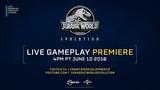 Reminder Jurassic World Evolution - Live Gameplay Premiere