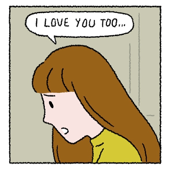 – я снова причинил тебе боль.. прости. я люблю тебя. – я тоже тебя люблю.. но себя я люблю больше.