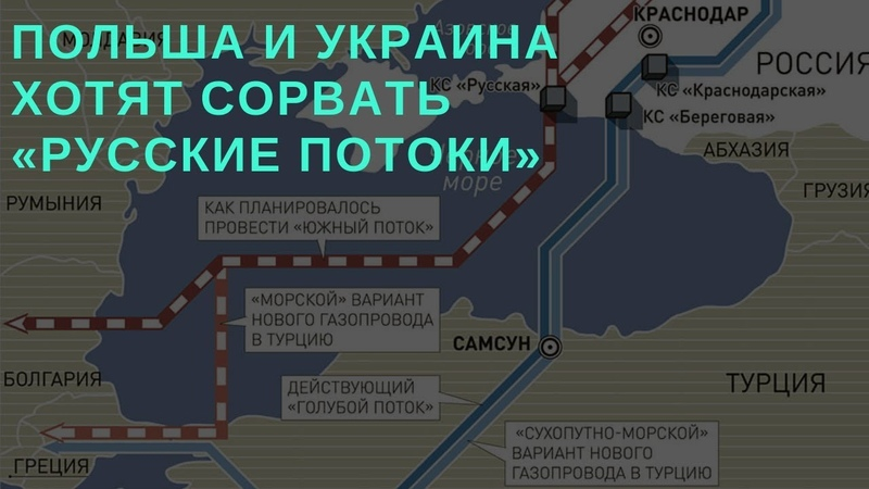 Почему Польша и Украина хотят сорвать «русские потоки»? (Камран Гасанов)