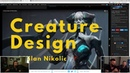 🔥New Course 🔥: Creature Design with Milan Nikolic and Hunter Schulz.