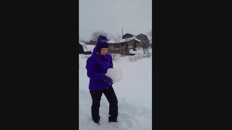 зима на даче 2019