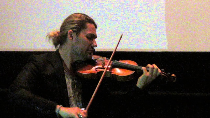 David Garrett at the premier of The Devil's Violinist in Los Angeles