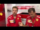 Seb about whether he has done some special preparation during the summer break or just got some rest - - Seb5 BelgianGP