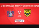 Checkatrade FL Trophy 2018-19 quarter-final | 22.01.19 | Bury - Oxford United
