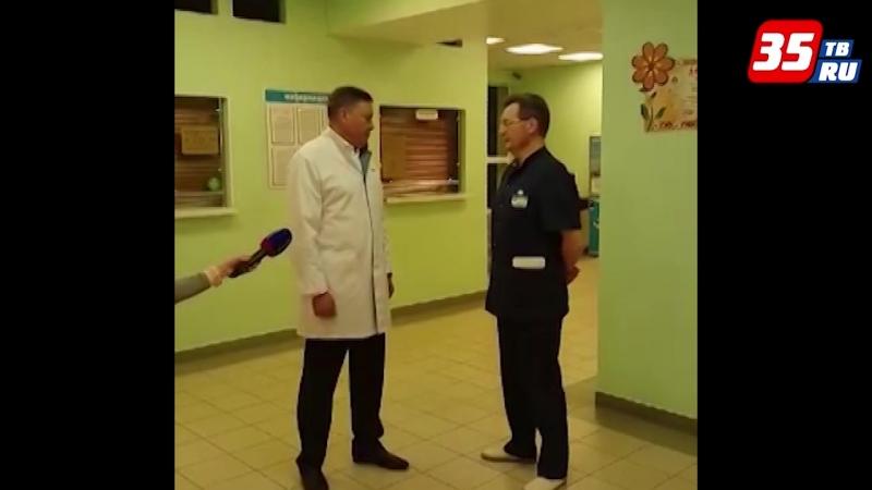Олег Кувшинников посетил больницу, куда были доставлены пострадавшие в ДТП
