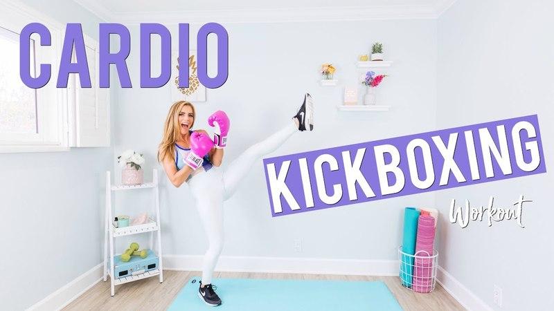 10 Minute CARDIO Kickboxing Workout Legs Butt