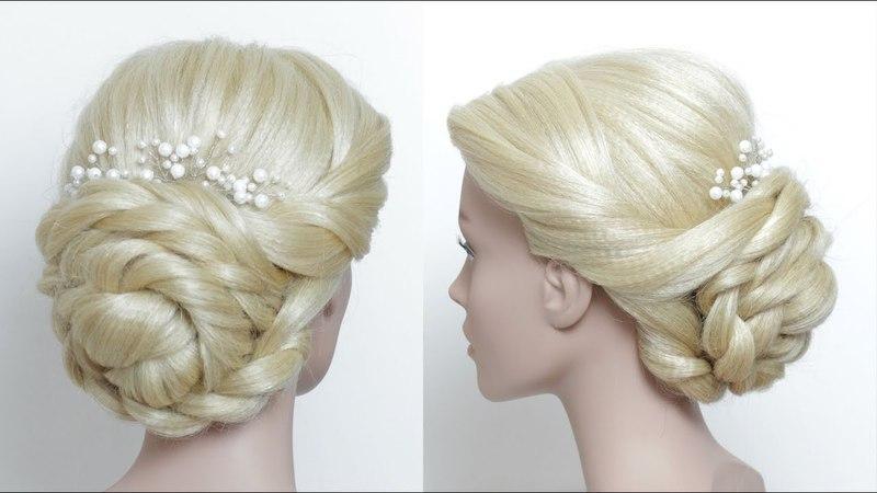 Prom Wedding Updo Tutorial For Long Hair