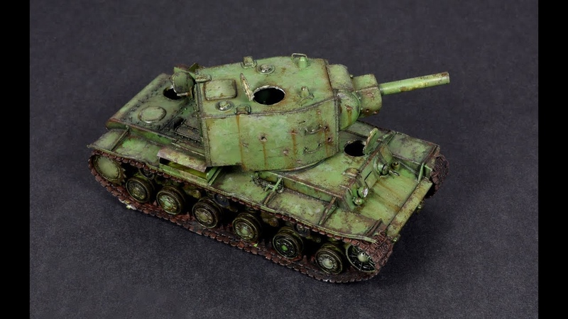KV-2 172 Trumpeter - Tank Model