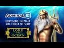 Bonus VLT Italia Lord of the Ocean 5 SCATTER Admiralyes e Dolphin Pearl Deluxe VLT Bet 5 Euro