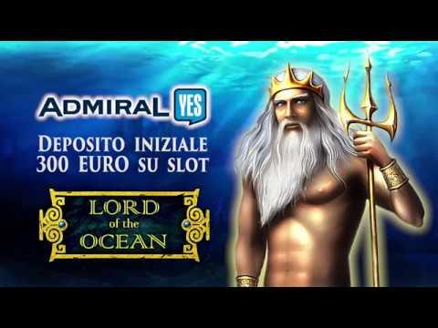 Bonus VLT Italia Lord of the Ocean 5 SCATTER (Admiralyes) e Dolphin Pearl Deluxe VLT Bet 5 Euro