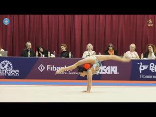 Лала Крамаренко - мяч (финал) // Sofia Cup 2019