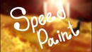 [SpeedPaint] - Field of gold flowers |Spoiler Novella|