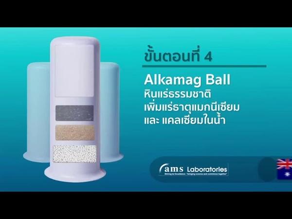 Review ALKAMAG Mineral Alkaline Water /เครื่องกรองน้ำมาตรฐานสากล
