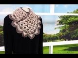 Programa Arte Brasil - 26052015 - Noemi Fonseca - Gola 3D em Croch