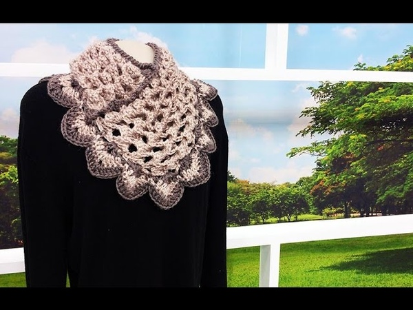 Programa Arte Brasil 26 05 2015 Noemi Fonseca Gola 3D em Crochê