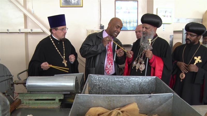Предприятие Софрино посетил Патриарх Католикос Эфиопии Абуна Матфий