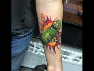 Rick and Morty/ Vladislav Shetikov Tattoo Artist/ Russia/