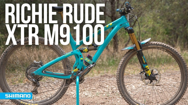 Shimano XTR M9100 First Impressions with Richie Rude | SHIMANO