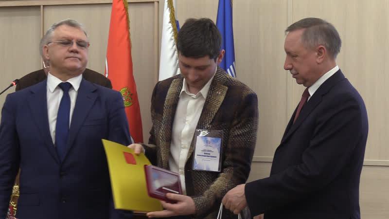 Александр Беглов поздравил лидеров трудовых коллективов Алмаз Антей ФАН ТВ