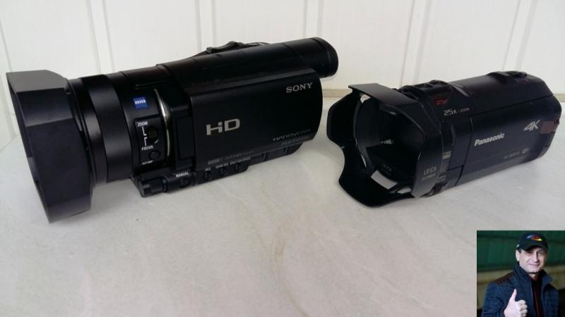 Sony HDR-CX900E вместо Panasonic HC-WX970 видео обзор, тесты звука и видео
