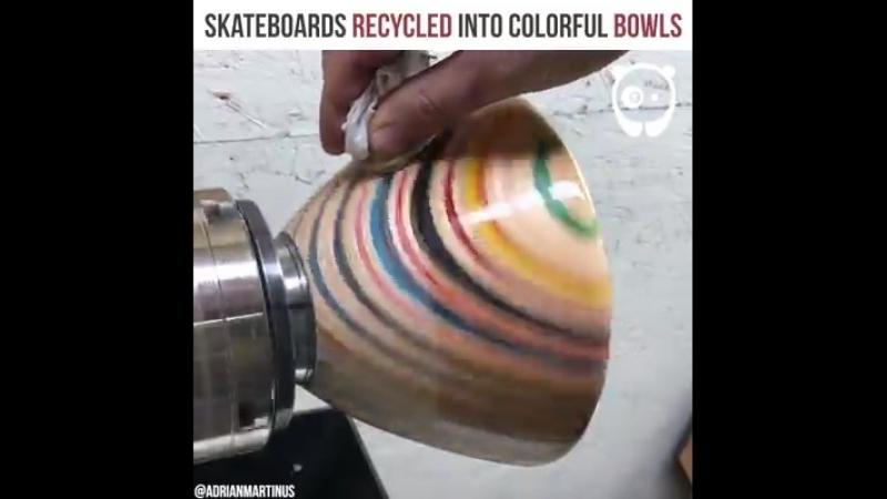 Скейт чаша