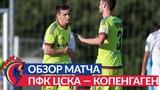 Обзор матча: ПФК ЦСКА — Копенгаген — 1:4