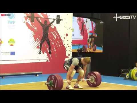 Игорь Лозко (BLR) - Junior Men 77kg, European Junior U23 Championships 2018