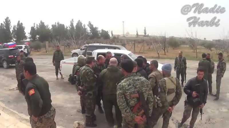 11.03.17 - создание российского-сирийского координационного центра в посёлке Аль-Арима
