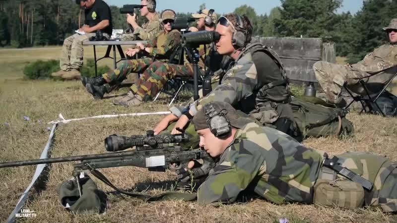 Конкурс на лучшую снайперскую пару стран НАТО 2018. Подписывайся на группу Стрелок, Сообщество высокоточной стрельбы.