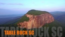 Table Rock State Park SC - Aerial Perspective - Summer 2015