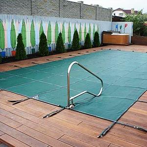 Батутное укрытие для бассейна