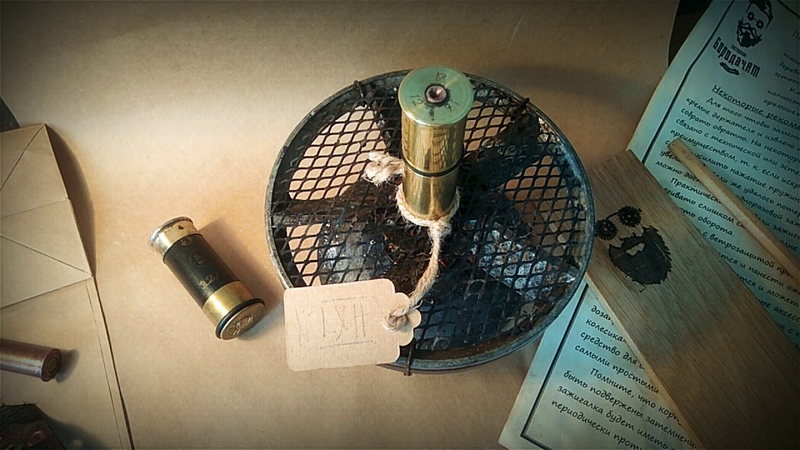 Эта штука ДОЛЖНА БЫТЬ У КАЖДОГОЗажигалка Бушерафт Охота Рыбалка Стимпанк bushcraft
