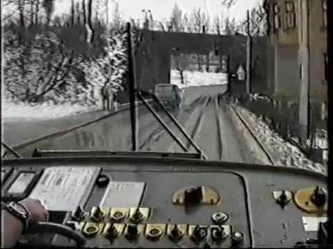 Tramvaje v Liberci 1994 - K. Kobík, část 2