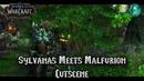 8 0 Сильвана встречает Малфуриона кат сцена