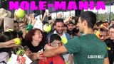 NOLE-MANIA ! Novak Djokovic Autograph Session - Madrid 2019 (HD)