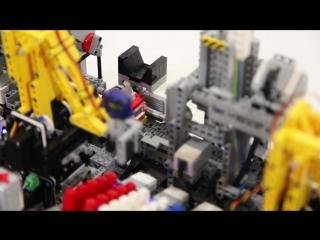 Лего фабрика по производству автомобилей
