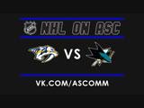 NHL   Predators VS Sharks
