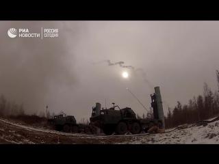 Стрельбы С-300 на полигоне в Бурятии