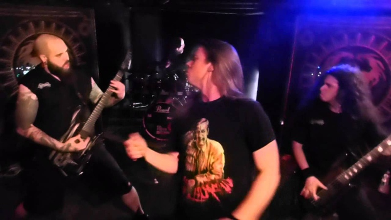 Cryptopsy - Crown Of Horns/Back To The Worms/Mutant Christ (Live in Quebec City)