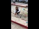 Танюша играет в песочнице 👸🏼🏝😂❤️