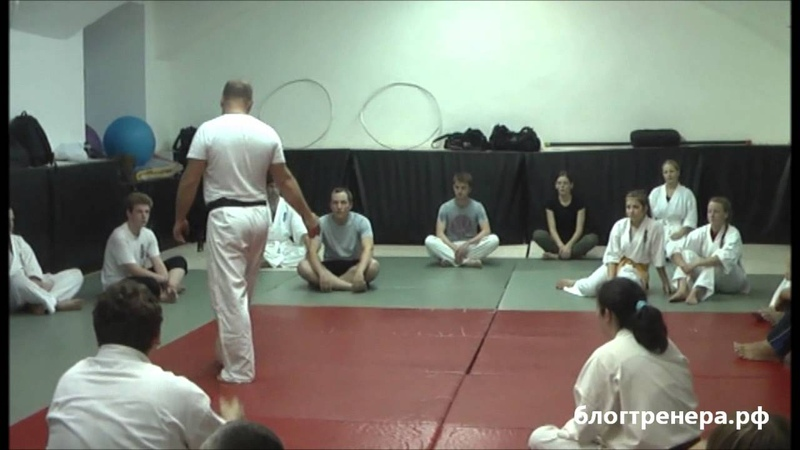 Семинар Арсения Филатова по базовой технике Киокусинкай - 1 часть