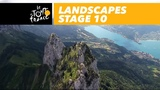 Landscapes of the day - Stage 10 - Tour de France 2018