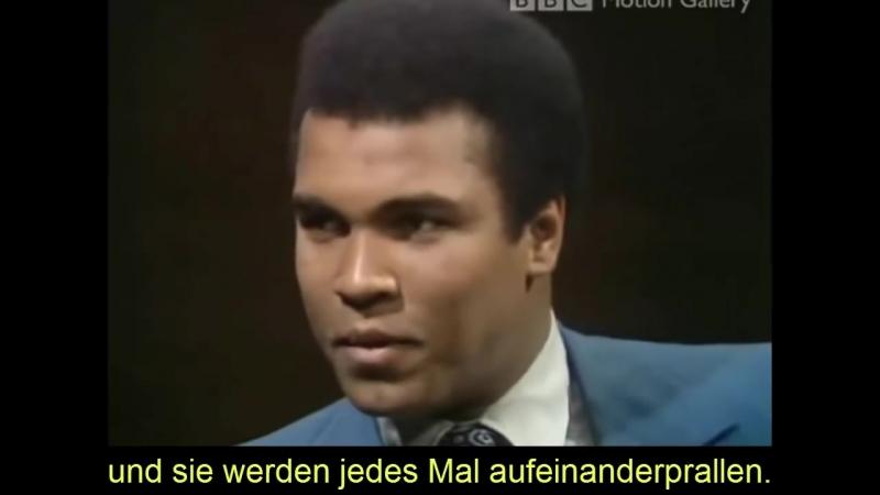Muhammad Ali Rassist vs. Gutmensch über Multikulti