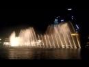 Burj Khalifa's fountains Celine Dion Andrea Bocelli - The Prayer