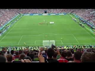 Россия vs. Испания, решающий пенальти, СУПЕРЭМОЦИИ болельщиков