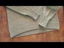 Облачный свитер 2 я часть Спицами МК