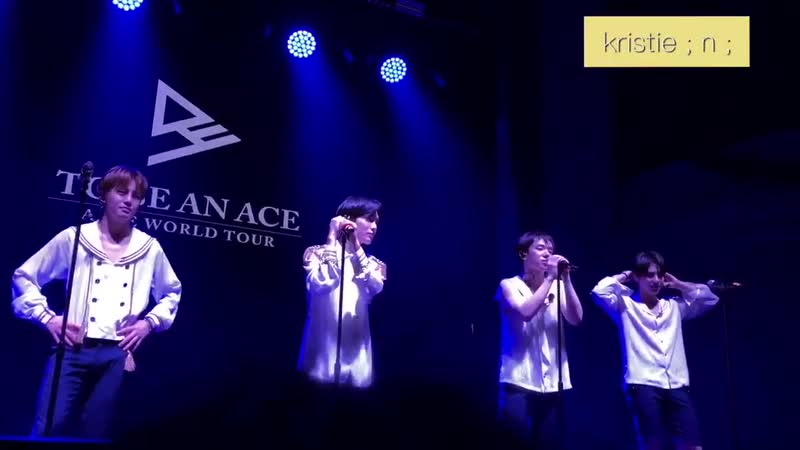 FANCAM | 30.11.18 | A.C.E (Ending ment) @ Fan-con 'To Be An ACE' in SF