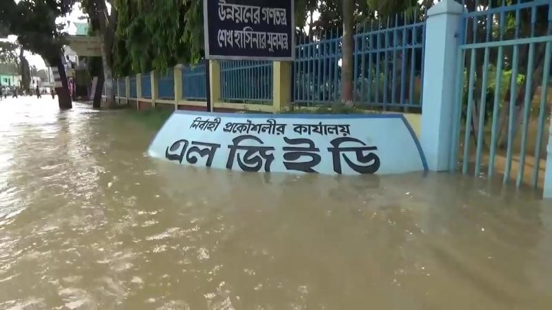 Moulvibazar Flood Hit Areas সারা জীবন স্মৃতি হয়ে থাকবে ২০১৮ সালের বন্যায় ক্ষতিগ্রস্ত স্হান গুলো HD.