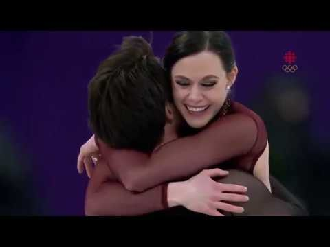 Thank You! Tessa Virtue and Scott Moir