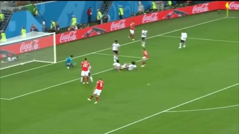 Россия - Египет 3:1. Санкт-Петербург. Чемпионат мира-2018. 19.06.18